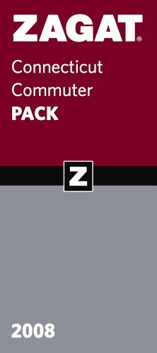 Zagat 2008 Conneticut Commuter Pack (Zagat Survey: Connecticut Commuter): Survey, Zagat