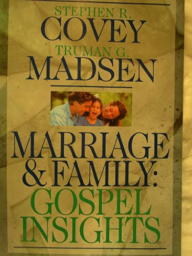 9781570086373: Marriage & Family: Gospel Insights