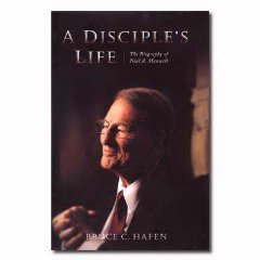 9781570088339: A Disciple's Life: The Biography of Neal A. Maxwell