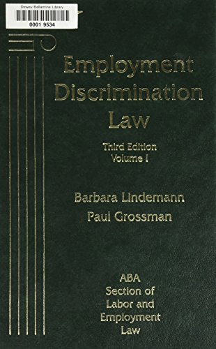 9781570180644: Employment Discrimination Law