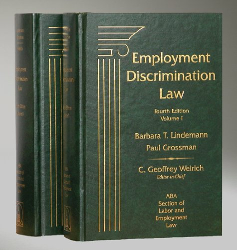 9781570184307: Employment Discrimination Law, 4th Edition, 2 Volume Set