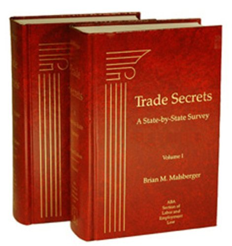 9781570185731: Trade Secrets: A State-by-State Survey, 3rd Edition