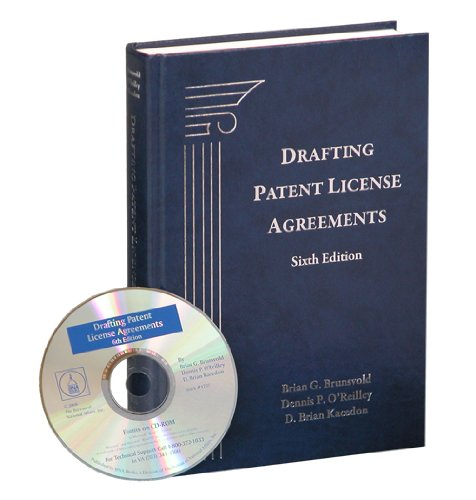 9781570187377: Drafting Patent License Agreements