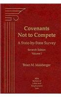 9781570188589: 1-3: Covenants Not to Compete: A State-by-state Survey, 3 Volume Set