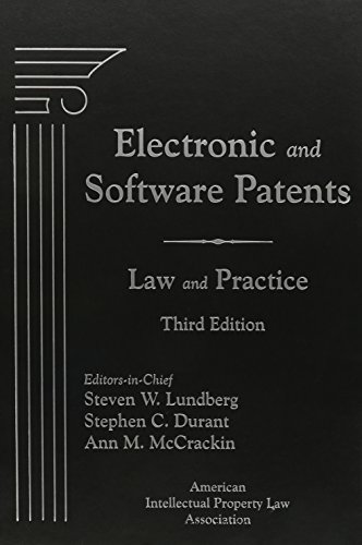 9781570189753: Electronic and Software Patents: Law and Practice, Third Edition