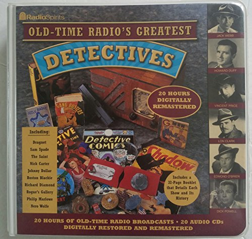 9781570194924: Old Time Radio's Detectives