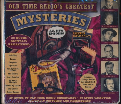 Old Time Radio's Greatest Mystery Shows (20-Hour Collections): Radio Spirits