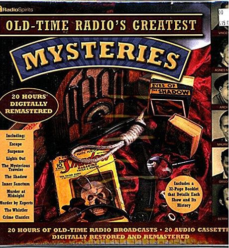 9781570194931: Old Time Radio's Greatest Mystery Shows (20-Hour Collections)