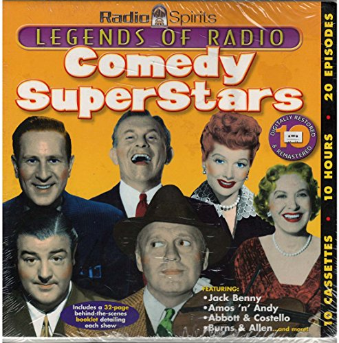 Comedy Superstars [With 32-Page Behind-The-Scenes Booklet] (Legends