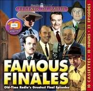 Legends of Radio, Famous Finales - Old Time Radio Programs on Audio Cassette Tapes: Spirits, Radio