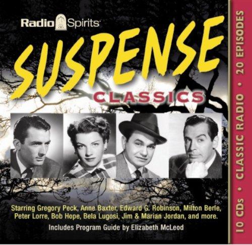 9781570199325: Suspense Classics (Old Time Radio) - AbeBooks: 1570199329