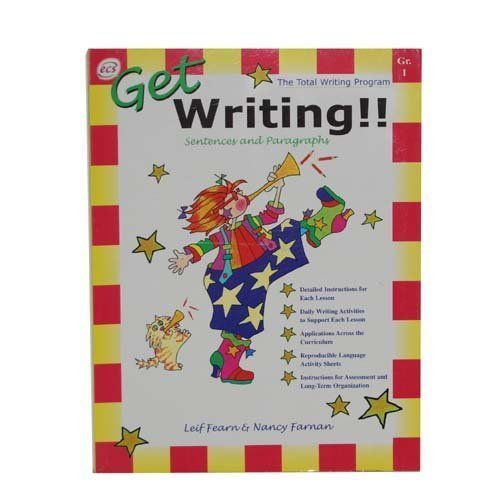 9781570221934: Get Writing!! Sentences and Paragraphs Grade 1