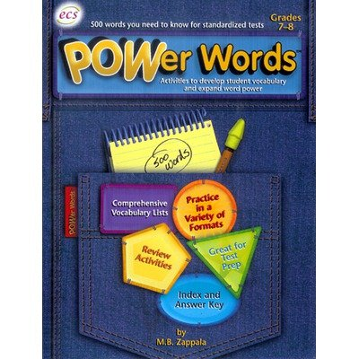POWer Words Gr. 7-8: M. B. Zappala