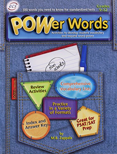 POWer Words for Grades 9-12: M. B. Zappala