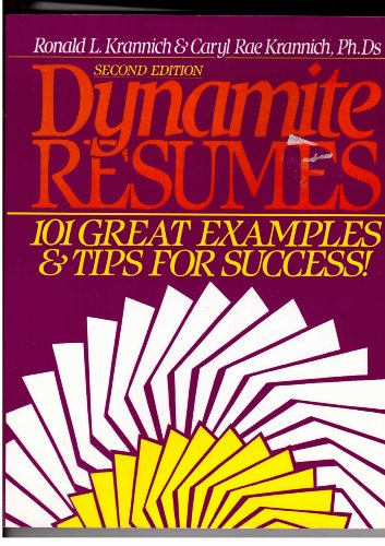 9781570230202: Dynamite Resumes: 101 Great Examples and Tips for Success
