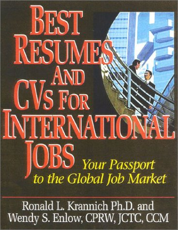 9781570231834: Best Resumes And CVs For International Jobs: Your Passport to the Global Job Market
