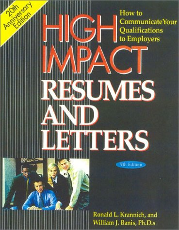 9781570231896: High Impact Resumes and Letters: How to Communicate Your Qualifications to Employers