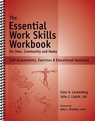 9781570252365: Essential Work Skills Workbook - Self-Assessments, Exercises & Educational Handouts
