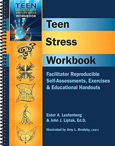 9781570252587: Teen Stress Workbook - Facilitator Reproducible Self-Assessments, Exercises & Educational Handouts