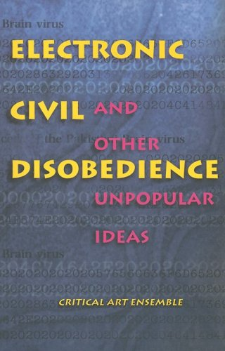 9781570270567: Electronic Civil Disobedience: and Other Unpopular Ideas