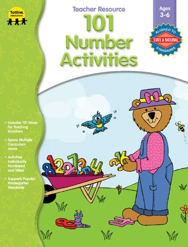 101 Number Activities (101 Activities) [Paperback]: School Specialty Publishing