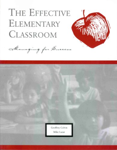 9781570350443: The Effective Elementary Classroom: Managing for Success