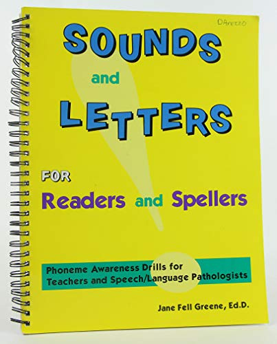 9781570351266: Sounds and Letters for Readers and Spellers: Phonemic Awareness Drills for Teachers and Speech-Language Pathologists