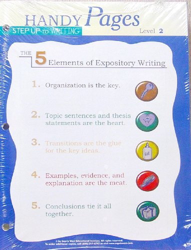Step up to Writing (Handy Pages, Level: Maureen Auman