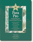 9781570353093: Para Pro: Supporting the Instructional Process