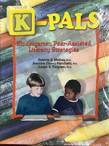 9781570353253: K-pals: Kingergarten Peer-assisted Literacy Strategies