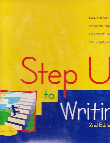 Step Up To Writing 2nd Edition Teacher's: Auman, Maureen E