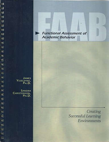 9781570355127: Functional assessment of academic behavior: Creating successful learning environments