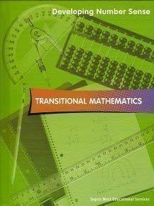 9781570359606: Transitional Mathematics Developing Number Sense