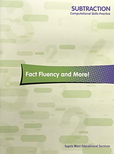 9781570359682: Subtraction Computational Skills Practice Fact Fluency and More