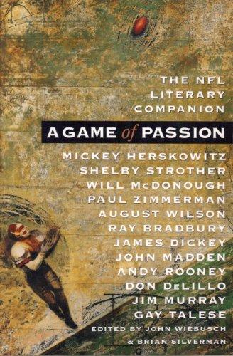 Beispielbild für A Game of Passion: The NFL Literary Companion zum Verkauf von Andover Books and Antiquities