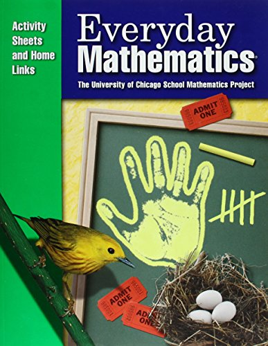 9781570399435: Everyday Mathematics / Grade K Consumable Activity Sheets and Home Links