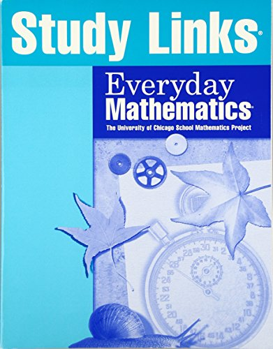 9781570399732: Everyday Mathematics: Study Links Grade 5