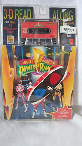Mighty Morphin Power Rangers : The Day of the Dumpster'/Book/3-D Glasses/...