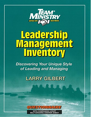 9781570520341: Leadership/Management Inventory