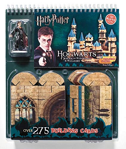 9781570544002: Building Cards:Hogwarts School of Witchcraft and Wizardry (Klutz)