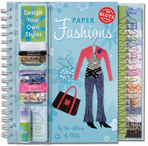 9781570545177: Paper Fashions 6 copy pack (Klutz)