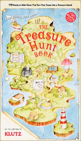 The Treasure Hunt Book (Klutz): Anne Akers Johnson
