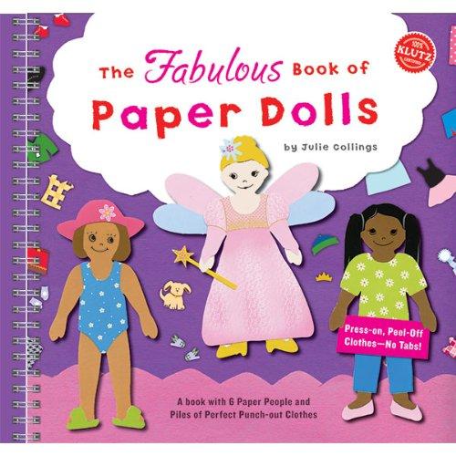 9781570546310: Fabulous Book of Paper Dolls (Klutz)