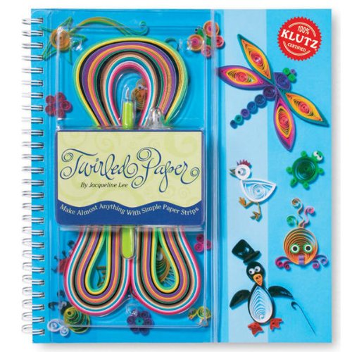 9781570548086: Twirled Paper: Make Almost Anything with Simple Paper Strips (Klutz)