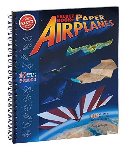 9781570548307: Klutz Book of Paper Airplanes