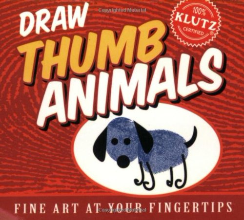 9781570549816: Draw Thumb Animals (Fine Art at Your Fingertips)