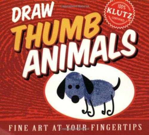 9781570549816: Draw Thumb Animals (Klutz S)