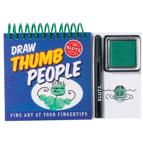 9781570549847: Draw Thumb People (Fine Art at Your Fingertips)