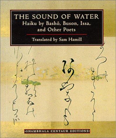 The Sound of Water (Shambhala Centaur Editions): Hamill, Sam