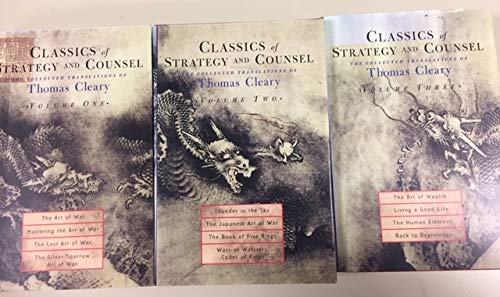 9781570627507: Classics of Strategy and Counsel: The Collected Translations of Thomas Cleary